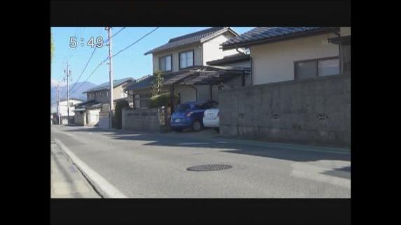 今月17日にも目撃 長野市吉田でイノシシの目撃情報