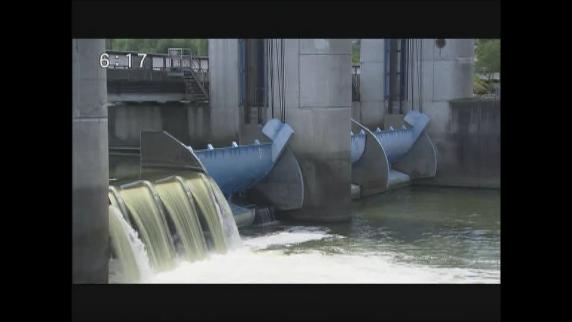 今年2回目の放流制限 諏訪湖 水位低下に心配の声